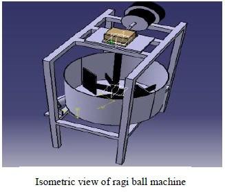 ragi ball machine