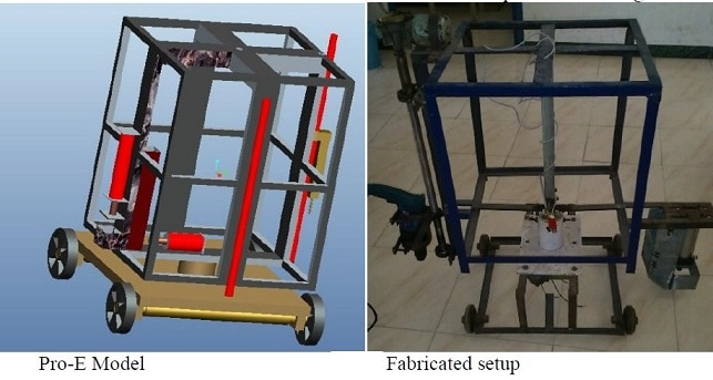 Design and Fabrication of Semi-Automatic Road Reflector Stud Installation Machine
