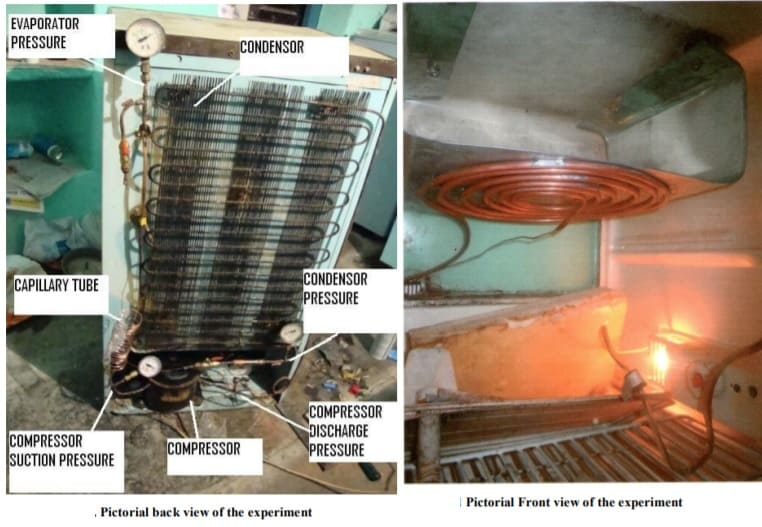 Fabrication and Analysis of Vapour Compression System with Ellipse shaped Evaporator coil