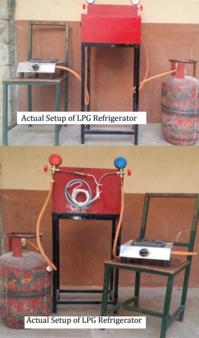 Performance Evolution of Domestic Refrigerator Using LPG Cylinder