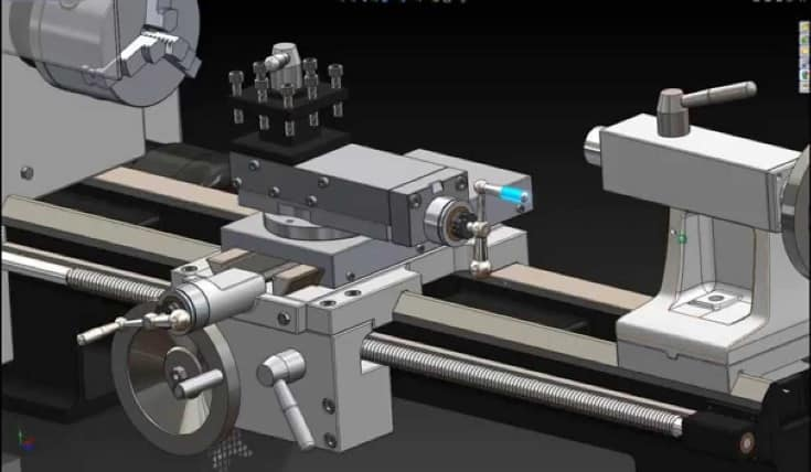 power saving in lathe Mechanical Project