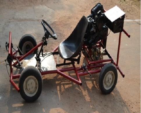 Fabrication of a Model Go-Kart