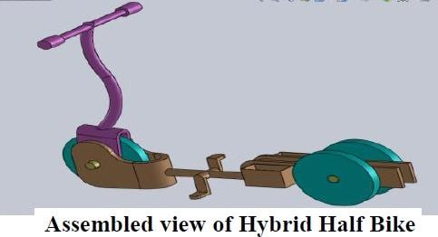 hybrid half bike