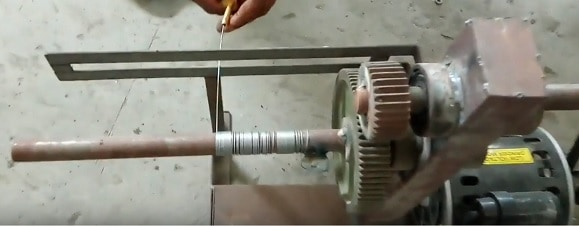 spring rolling machine mechanical project