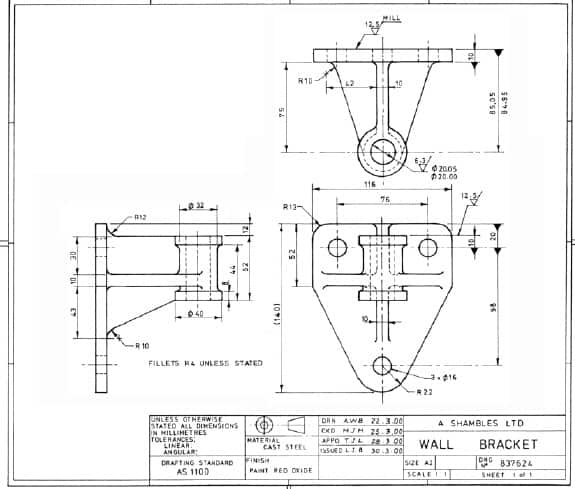 engineering drawing explained