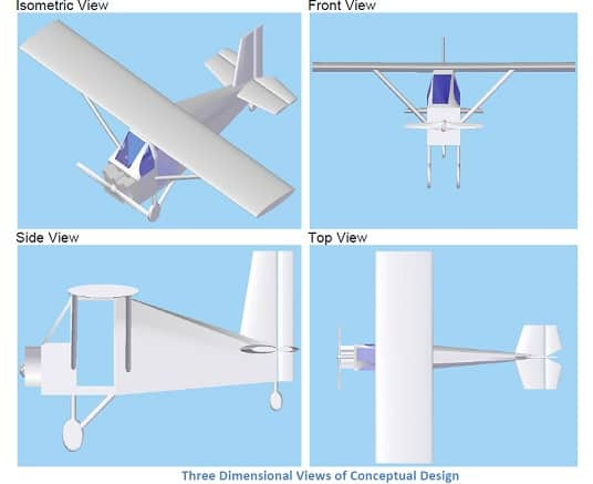 DESIGN AND FABRICATION OF ULTRALIGHT AIRCRAFT USING INCOUNTRY RESOURCES