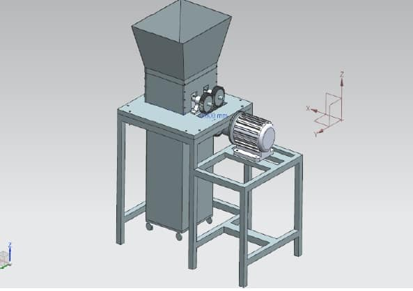 Design and Fabrication of shredder Machine