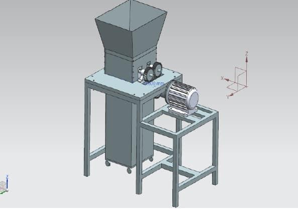 Design and Fabrication of shredder Machine