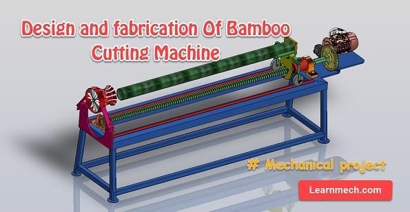 bamboo cutting machine