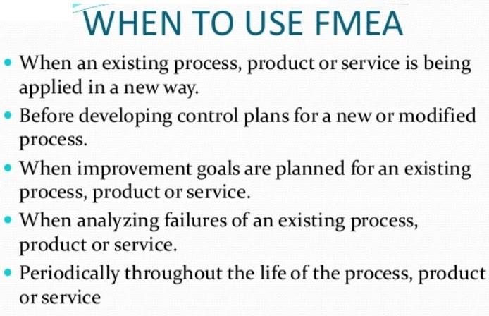 fmea use