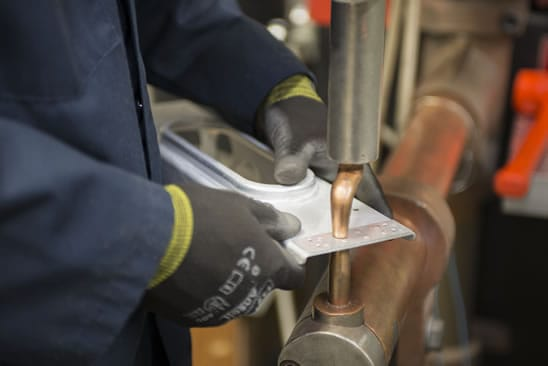 application of resistance spot welding