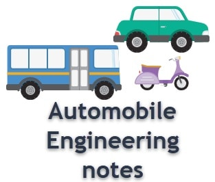 automobile Engineering notes