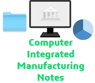 computer integrated manufacturing notes