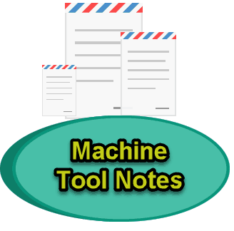 machine tool notes