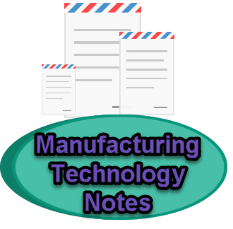 manufacturing technology notes