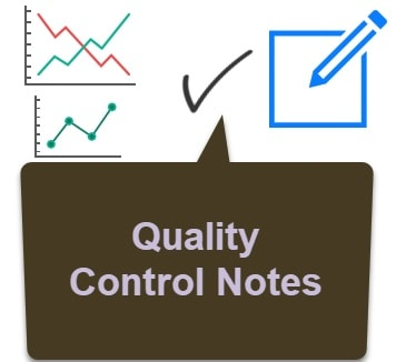 quality control notes