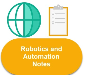 robotics and automation notes