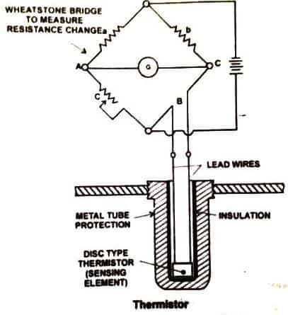 thermistor diagram