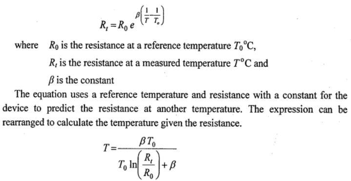 thermistor principle