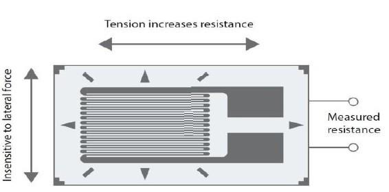 working of strain gauge