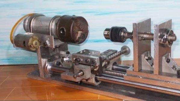 lathe mini machine mechanical projects