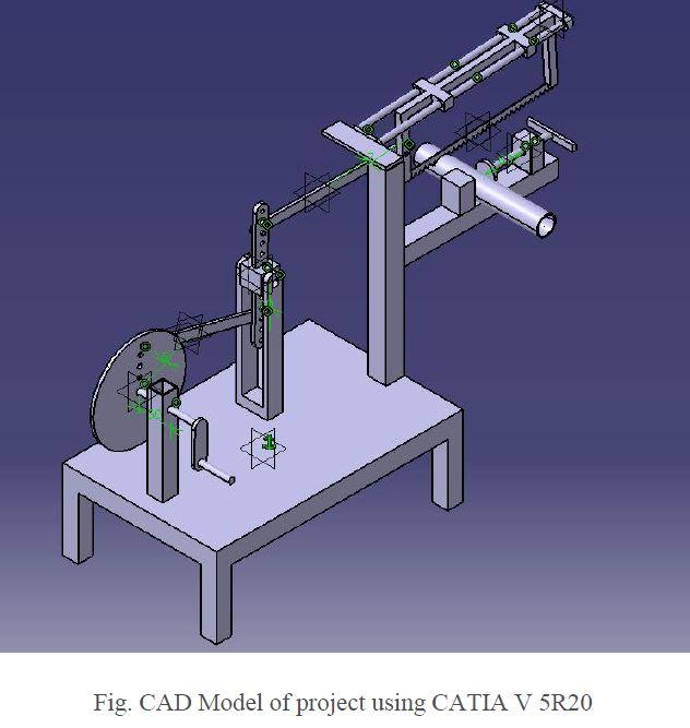 Fabrication of Beam Engine powered reciprocating Saw Report