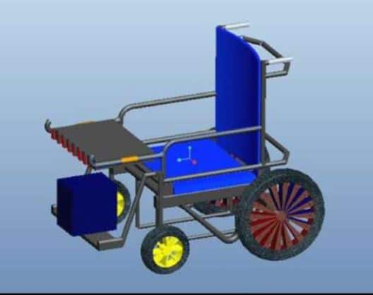 automatic wheelchair mechanical project report download