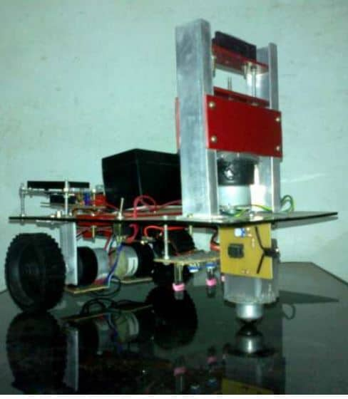 automated guided vehicle project