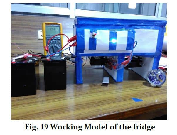 Solar Powered Refrigerator Report PDF Download