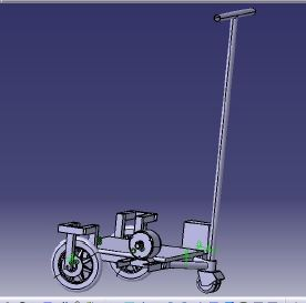 Design and Fabrication of Electric Scooter report Download