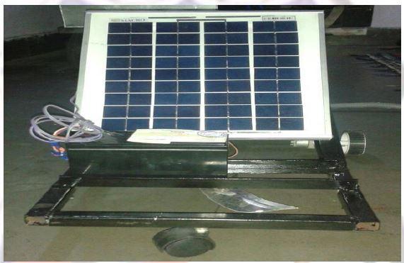 solar based grass cutter
