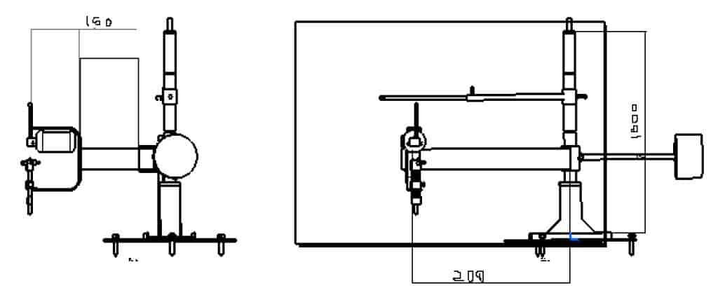 Design of SheetMetal Profile gas Cutting machine using scrap