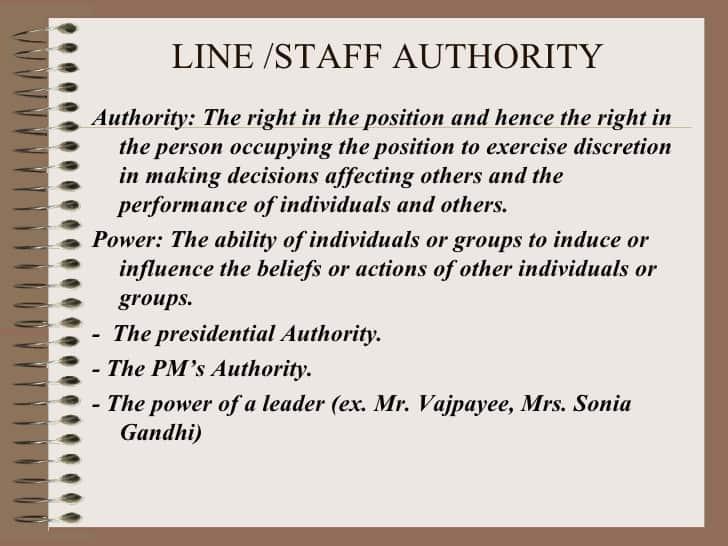 line-staff-authority